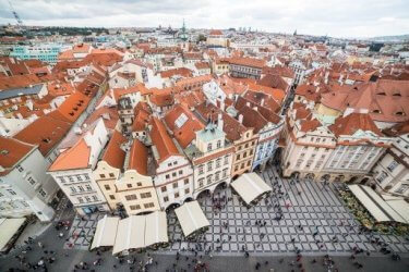 Prague, the hundred-spired Mother of Cities